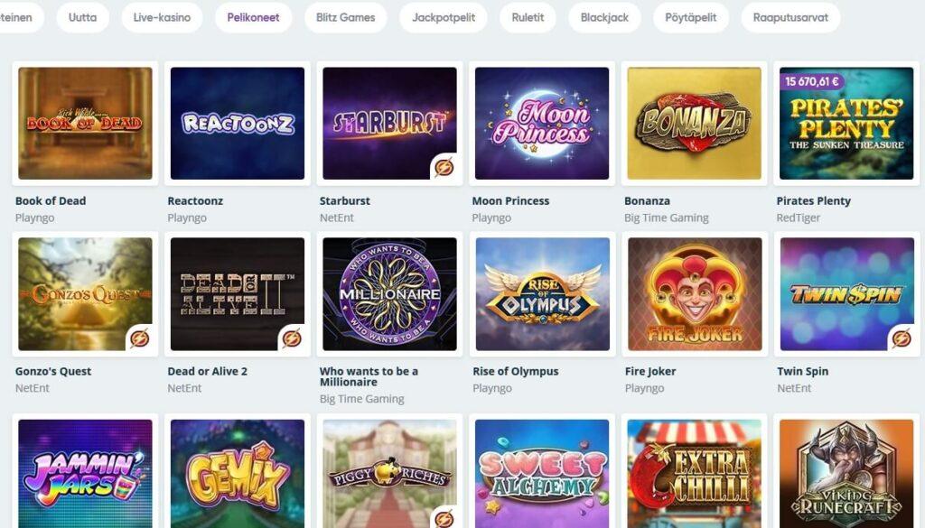 Speedy casino bet alternativ