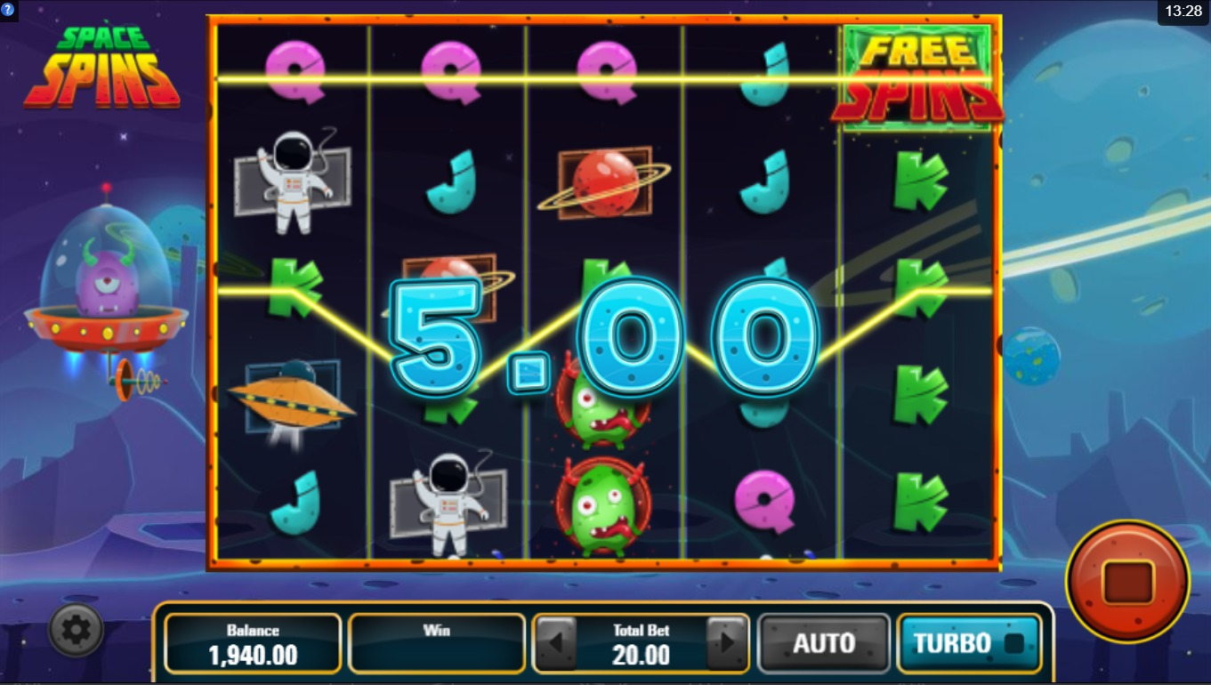 Spelautomat 3D grafik love