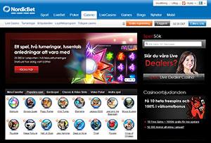 Svenska spelbolag betting Nordicbet casino dagen