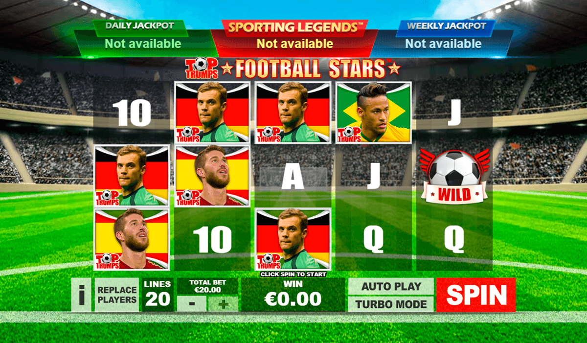Top football stars arvoinen