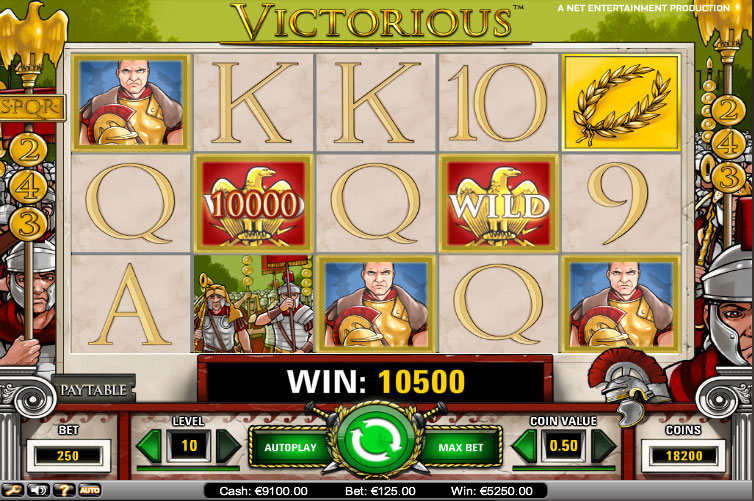 Video Victorious slot review söndagsturnering