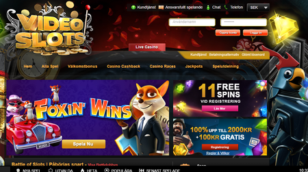 Videoslots webbversion casinon exempel